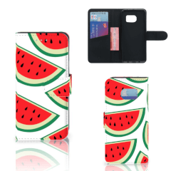 Samsung Galaxy S6 Edge Book Cover Watermelons