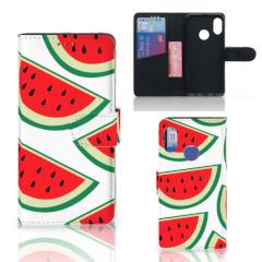 Xiaomi Mi A2 Lite Book Cover Watermelons