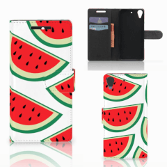 HTC Desire 628 Book Cover Watermelons