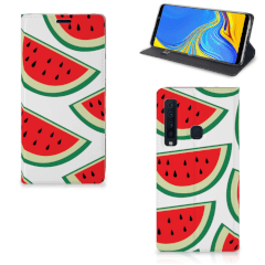 Samsung Galaxy A9 (2018) Flip Style Cover Watermelons