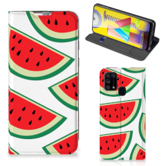 Samsung Galaxy M31 Flip Style Cover Watermelons