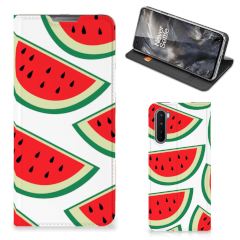 OnePlus Nord Flip Style Cover Watermelons
