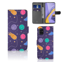 Samsung Galaxy A51 Wallet Case met Pasjes Space