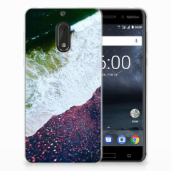 Nokia 6 TPU Hoesje Sea in Space