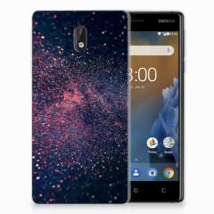 Nokia 3 TPU Hoesje Stars