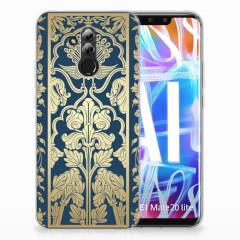 Huawei Mate 20 Lite TPU Case Golden Flowers