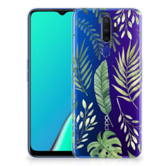 OPPO A5 2020 TPU Case Leaves