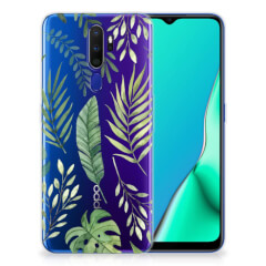 OPPO A9 2020 TPU Case Leaves