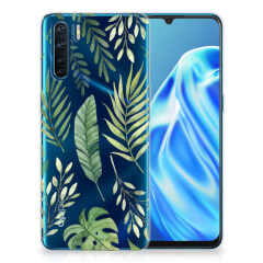 OPPP A91 TPU Case Leaves
