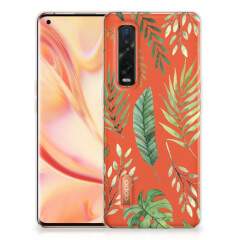 OPPO Find X2 Pro TPU Case Leaves