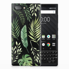 BlackBerry Key2 TPU Case Leaves
