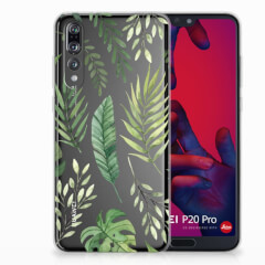 Huawei P20 Pro TPU Case Leaves