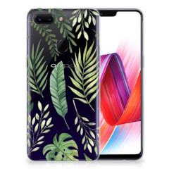 OPPO R15 Pro TPU Case Leaves