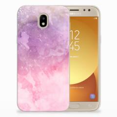 Hoesje maken Samsung Galaxy J5 2017 Pink Purple Paint