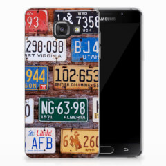 Samsung Galaxy A3 2016 Siliconen Hoesje met foto Kentekenplaten