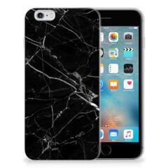 Apple iPhone 6 | 6s TPU Siliconen Hoesje Marmer Zwart - Origineel Cadeau Vader