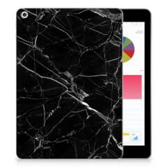 Apple iPad 9.7 2018 | 2017 Tablet Back Cover Marmer Zwart - Origineel Cadeau Vader
