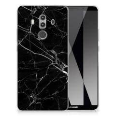 Huawei Mate 10 Pro TPU Siliconen Hoesje Marmer Zwart - Origineel Cadeau Vader