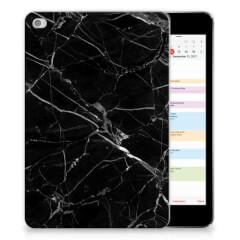 Apple iPad Mini 4 | Mini 5 (2019) Tablet Back Cover Marmer Zwart - Origineel Cadeau Vader