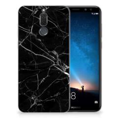 Huawei Mate 10 Lite TPU Siliconen Hoesje Marmer Zwart - Origineel Cadeau Vader