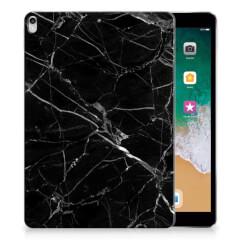 Apple iPad Pro 10.5 Tablet Back Cover Marmer Zwart - Origineel Cadeau Vader