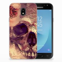 Silicone Back Case Samsung Galaxy J3 2017 Skullhead