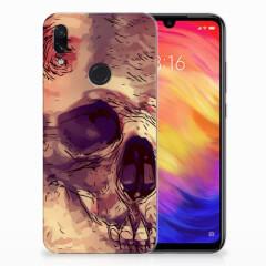 Silicone Back Case Xiaomi Redmi Note 7 Pro Skullhead