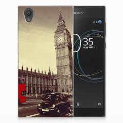 Sony Xperia L1 Siliconen Back Cover Londen