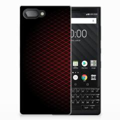 BlackBerry Key2 TPU bumper Geruit Rood