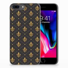 Apple iPhone 7 Plus | 8 Plus TPU bumper Franse Lelie