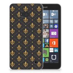 Microsoft Lumia 640 TPU bumper Franse Lelie