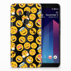HTC U11 Plus TPU bumper Emoji