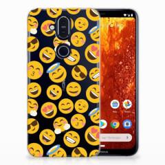 Nokia 8.1 TPU bumper Emoji