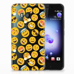 HTC U11 TPU bumper Emoji