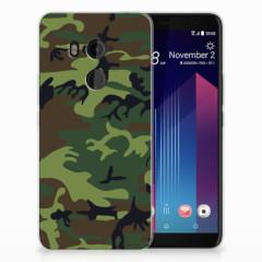 HTC U11 Plus TPU bumper Army Dark