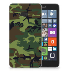 Microsoft Lumia 640 TPU bumper Army Dark