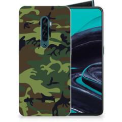 OPPO Reno 2 TPU bumper Army Dark