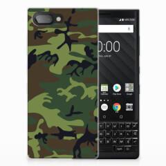BlackBerry Key2 TPU bumper Army Dark