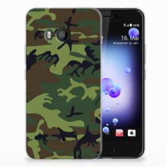 HTC U11 TPU bumper Army Dark