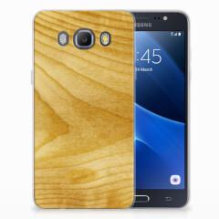 Samsung Galaxy J5 2016 Bumper Hoesje Licht Hout
