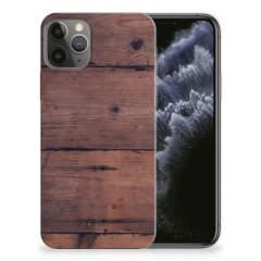 Apple iPhone 11 Pro Bumper Hoesje Old Wood