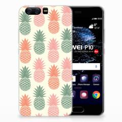 Huawei P10 Siliconen Case Ananas