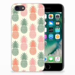 iPhone SE (2020) | 7/8 Siliconen Case Ananas