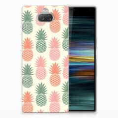 Sony Xperia 10 Plus Siliconen Case Ananas