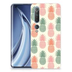 Xiaomi Mi 10 Pro Siliconen Case Ananas
