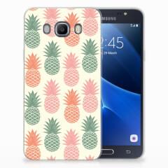 Samsung Galaxy J7 2016 Siliconen Case Ananas