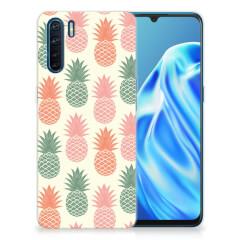 OPPP A91 Siliconen Case Ananas