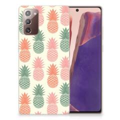 Samsung Note 20 Siliconen Case Ananas