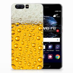 Huawei P10 Siliconen Case Bier