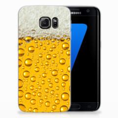 Samsung Galaxy S7 Edge Siliconen Case Bier